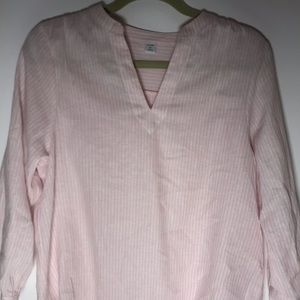 Old Navy Pink Striped Top